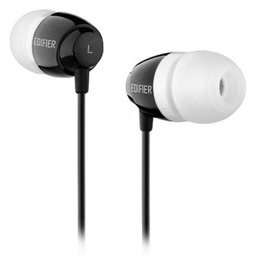 EDIFIER Earphone [H210] - Black - Earphone Ear Bud